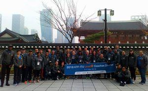 Представители ФТРМ прошли тренинг по триатлону в Южной Корее