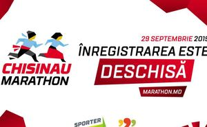 Maratonul Internațional Chișinău 2019:  înregistrarea este deschisă!