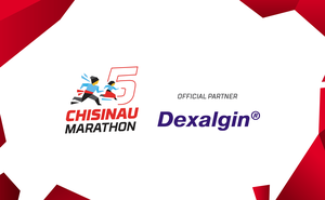 Dexalgin®: Run without pain at Chisinau International Marathon