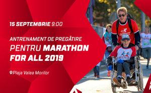 Antrenament de pregătire pentru Marathon for All 2019