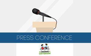 Сегодня пройдет пресс-конференция велогонки Chisinau Criterium