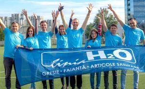 Echipa LInia H2O este gata de Maraton