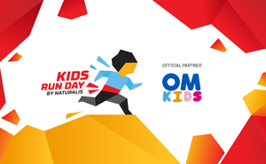 The drinking water OM Kids: become a real hero at Kids Run Day