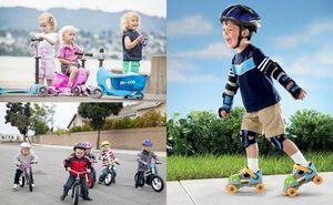 Детки могу проехать трассу Карнавального забега на роликах и велосипеде