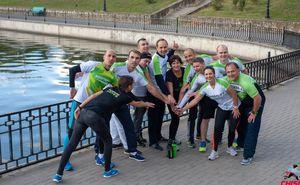 Сторонники здорового и активного образа жизни подготовились к марафону