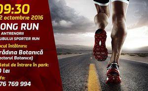 Vă invităm la antrenamentul Long Run de duminică cu Sporter