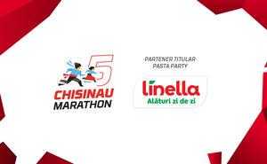 Linella - doza de energie necesară la Maratonul Internațional Chișinău