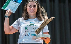 Prima Iron Lady din Moldova a primit titlul de prima ultra-triatlonistă