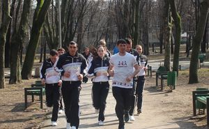 Sporter Corporate Run. Ministry of Youth and Sports