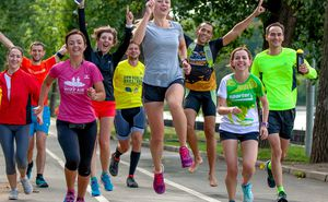 Ultimul antrenament înainte de Maraton și cadourile câștigate la tombolă
