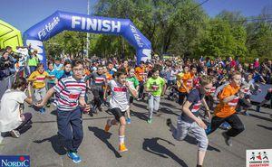 Micii eroi au cucerit podiumul maratonului Kids Run Day by Nordic