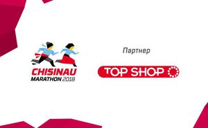TOP SHOP – экспо-партнер Chisinau International Marathon