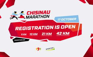 Înregistrarea pentru Chișinău Marathon 2021 este deschisă