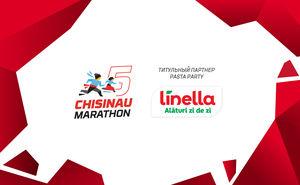 Linella – заряд энергии, необходимый на Кишиневском марафоне