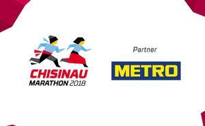 "METRO - energy for the champions of ""Chisinau International Marathon"""