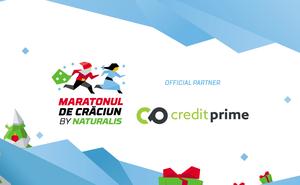 CreditPrime - partner for Maratonul de Crăciun by Naturalis participants