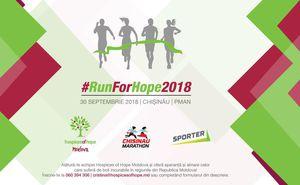 Alătură-te echipei Hospices of Hope Moldova la Maratonul din Chișinău