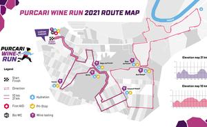 Au mai rămas 3 zile până la Purcari Wine Run 2021