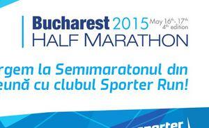Let's go to the Bucharest Half-Marathon with Sporter Run Club!