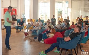 В Кишиневе прошел семинар по триатлону с Евгением Троценко