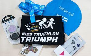 Какие подарки получат участники Kids Triathlon Triumph в день триатлона?