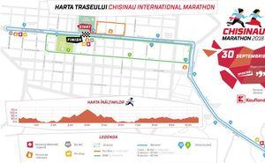 A fost aprobat traseul celui de-al 4-lea Maraton Internațional Chișinău