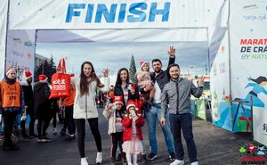 Maratonul de Craciun family race is finished