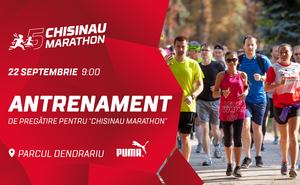 Vă invităm la antrenamentul final pentru Chisinau Marathon 2019