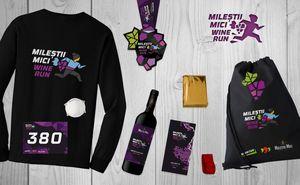 Стартовый пакет участника Milestii Mici Wine Run