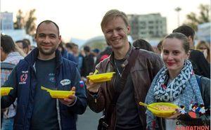 В центре прошла Pasta Party и брифинг для участников Кишиневского марафона