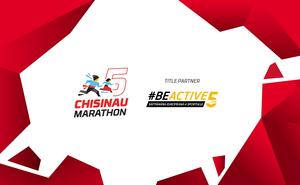 #BeActive and overcome 42 km at Chisinau International Marathon