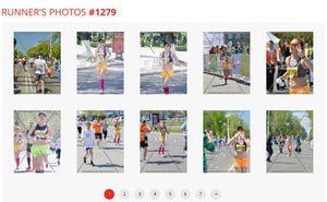 Este accesibil serviciul de achiziţionare a fotografiilor de la Maratonul din Chișinău