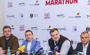The first press-conference about Chisinau International Marathon