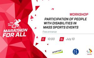 In Chișinău will be held the Marathon for All Workshop