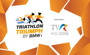 TVR MOLDOVA became media partner of the Triathlon Triumph by BMW i