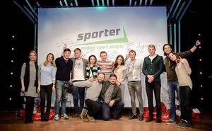 Sporter поздравляет подписчиков с Новым Годом