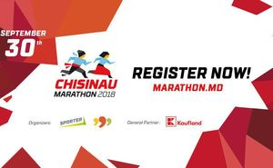Registration for Chisinau Marathon 2018 is now open