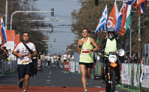 The third Chisinau International Marathon - about 17 000 of participants