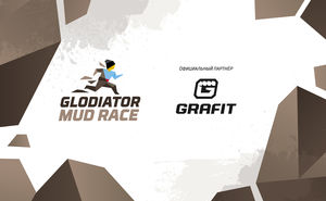 Grafit Holding – партнер гонки с препятствиями – Glodiator Mud Race