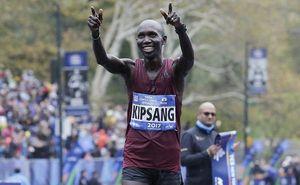 Кениец Кипсанг и американка Флэнаган выиграли Нью-Йоркский марафон