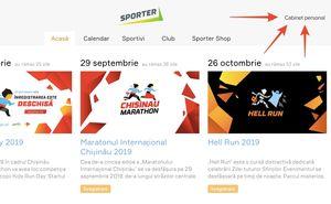 Verificați-vă statutul de participant al Maratonului pe Sporter.md