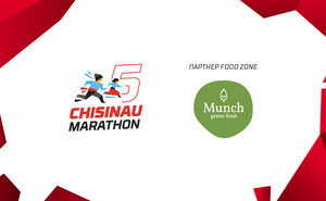 Munch.md: вкусная и полезная пища для участников Кишиневского марафона