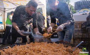 На центральной площади прошла Pasta Party для участников Criterium