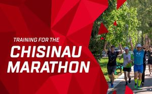 A training was held in the lead-up to Chisinau International Marathon