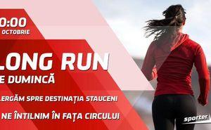 Vă invităm la antrenamentul de alergare cu Sporter Run
