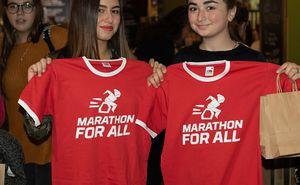 """Voluntarii se pregătesc pentru """"Marathon For All"""""""