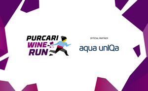 Aqua unIQa – a source of energy for Purcari Wine Run 2019 participants