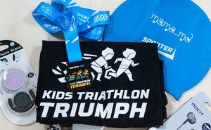 Ce vor primi participanții Kids Triathlon Triumph în ziua evenimentului?