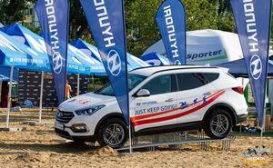 Hyundai — официальная машина Ghidighici Sea Mile 2017