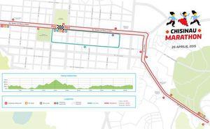 Traseul Maratonului din Chişinău a obţinut certificatul FAM